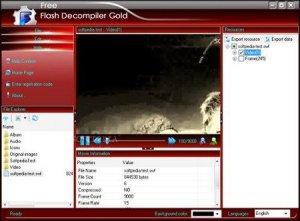 Flash Decompiler Gold 2.3.1.1300